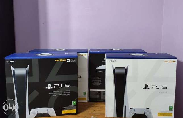 PS5 Console CD & Digital Edition