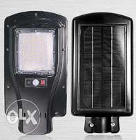 Integrated Solar streetlight equivalent to 30watts of normal bulb.