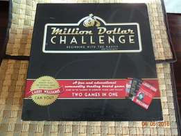 Bargain ! Million Dollar Chalenge Board game. Game of financial skill!