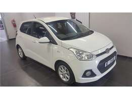 Hyundai Grand i10 1.2 Motion, White with 53000km, for sale!