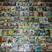 Original Xbox360 playstation 2 nintendo Wii games