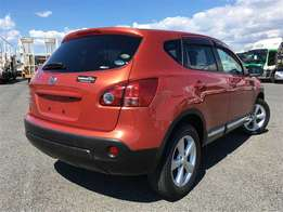 Nissan Dualis Orange KCM