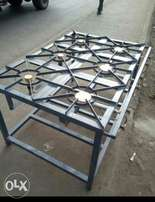 Gas cooker three