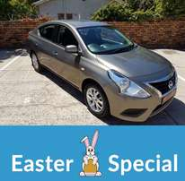 2015 Nissan Almera 1.5 Acenta available NOW - Easter SPECIAL