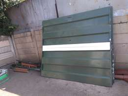 3 pin up garage doors with everything for R1500