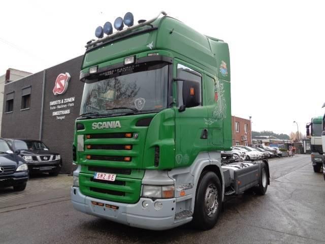 Scania R 500 Topline Manual Retarder - 2006