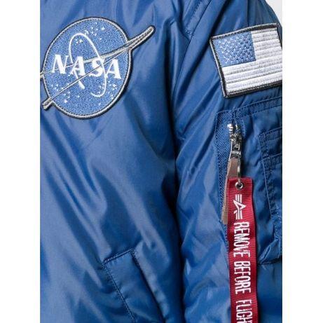 Alpha Industries Kurtka lotnicza MA 1 VF NASA RP za 750 zł