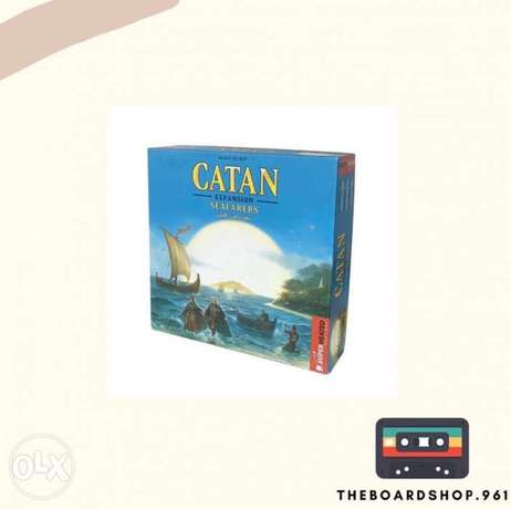 Original Catan Seafarers