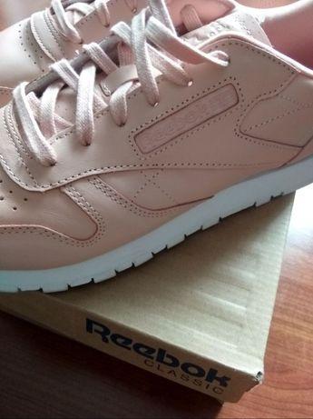 Buty Reebok Classic Rose Cloud, rozm. 40, pudrowe różowe