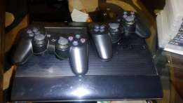 PS3 CONSOLE + 10 games - 15000