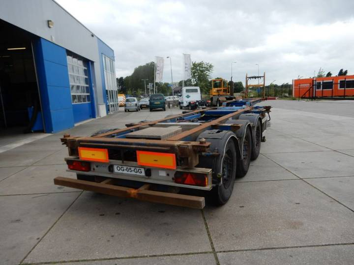 Contar Chassis / 2x Extendable / SAF DISC - 2000