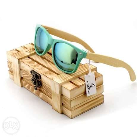 Polarized Bamboo handmade sunglasses fashionable xmas best gift shades