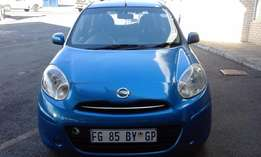Nissan Micra 1.4 Model 2012 5 Door Colour Blue Factory A/C&CD Player