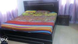 6 by 6 Bed frame and Mouka foam
