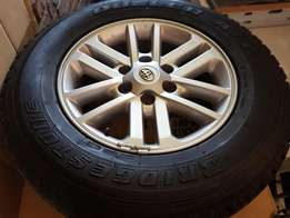 Toyota Hilux Mag and Tyres
