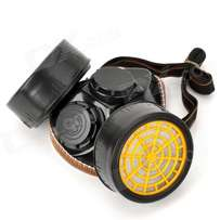 gas mask respirater with activated carbon filter