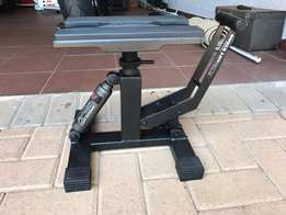 Motorcycle hydraulic lift stand