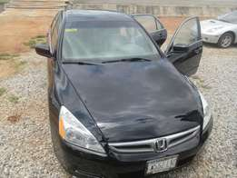 Clean Honda accord 06 model for sale