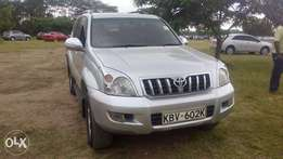 Toyota landcruiser Prado Diesel Leather Sunroof on quick sell