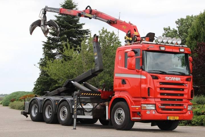 Scania R500 V8!!Z-KRAAN/HAAK!! MANUELL! - 2008