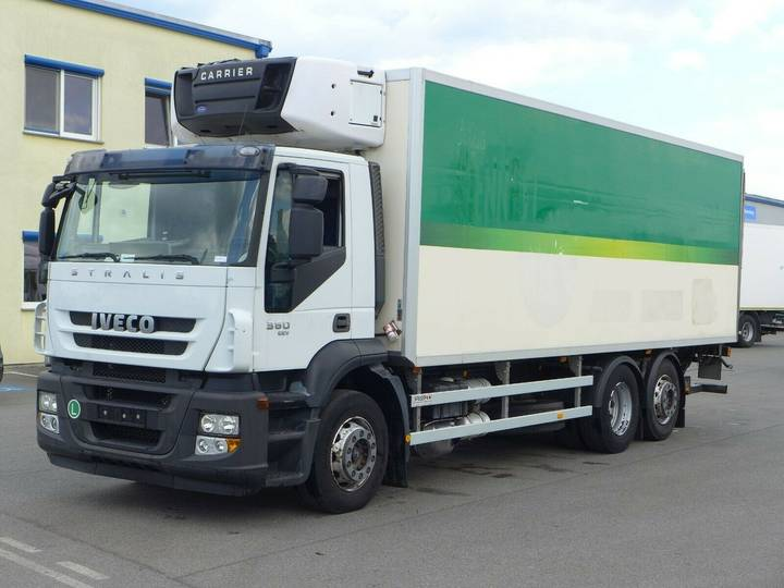 Iveco Stralis 260S36*Euro 5*Carrier Supra*LBW* - 2010