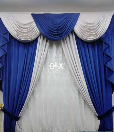 Curtain shop √ New curtain making & fixing available