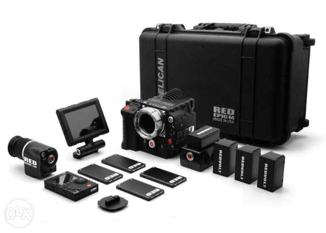 red epic m 5k cinema camera