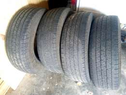 Continental cross contact 255/70/16 tyres