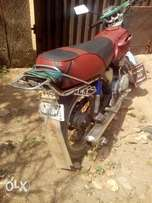 Neetly used motorcycle available for serious buyer only