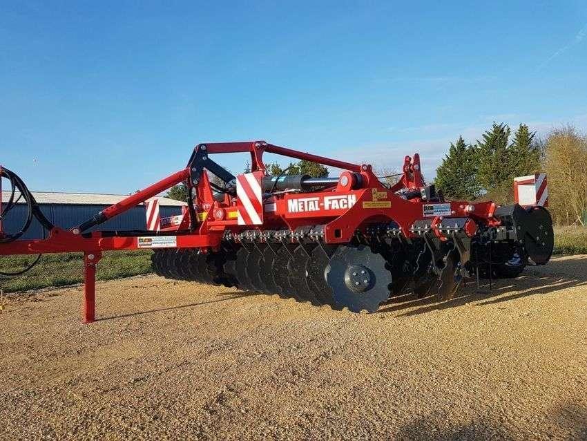 Metal-Fach Bizon 45 Rouleau Rollflexø550mm Traine - 2019