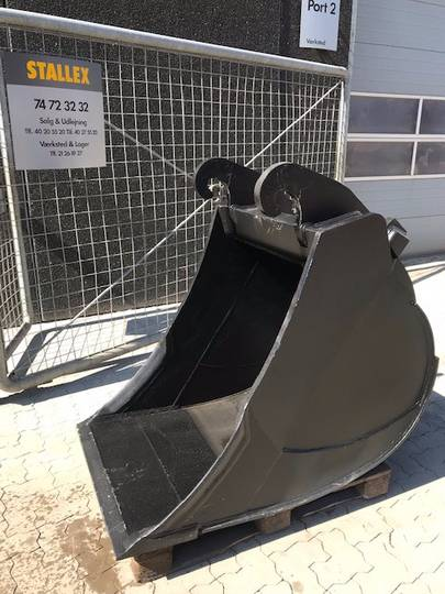 Graveskovl/bucket/tieflöffel 775 Kg