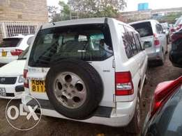 clean pajero io in mint condition