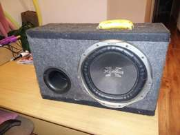 Sony Xplode 12 INCH 1300W Sub woofer in box