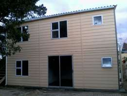 Quality affordable nutec fibre and cement houses, granny flats,