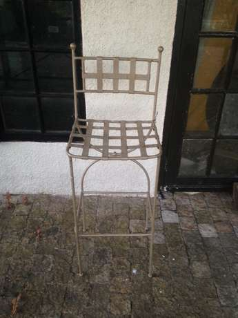 Wrought Iron Chairs & Bar stools/tables Somerset West - image 2