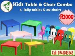 Kids table and chair combo for sale