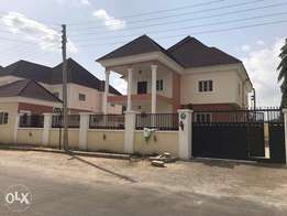 Brand new 4 bedrooms detached duplex with bq around Godab life camp