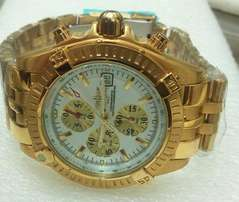 Breitling yellow gold watch(deliveries)