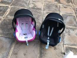 Maxi Cosi Pebble car seats