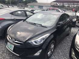 Hyundai elantra 2014 a year used for fast sell