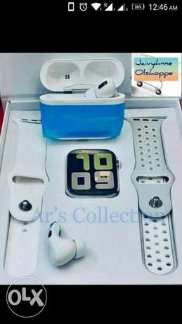 Smart Watch T5S+airpods+ free delivery جدة -  2