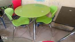 This is a brand new imported restaurant dining table