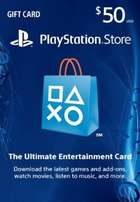 $50 playstation store gift card