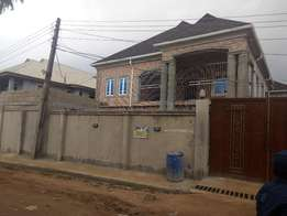 Executive newly built 2 bedroom flat all tiles pop ceiling at Baruwa