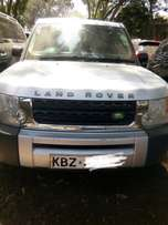 Land Rover Discovery, 3000 diesel, 2007, silver colour, black interior