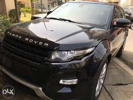 Direct Toks Range Rover Evogue with real duty in a Very good condition