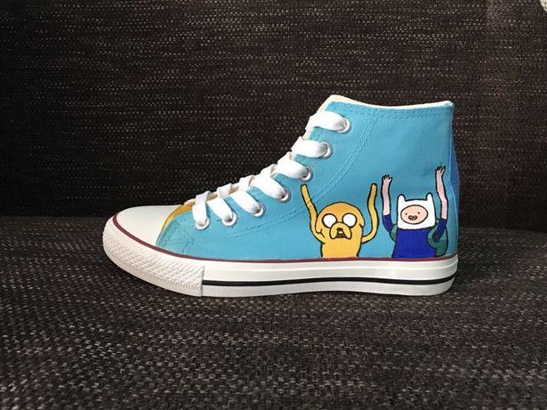 Trampki PORA NA PRZYGODĘ buty conversy Adventure Time