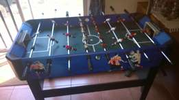 Soccer table fooseball
