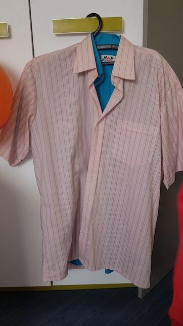 Ciepłe koszule nocne damskie XXL, 3XL, 4XL z bawełny długie  4KRDD