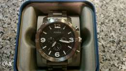 Brand new Fossil stainless steel watch